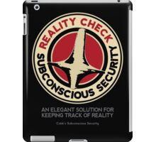 Subconscious Security iPad Case/Skin