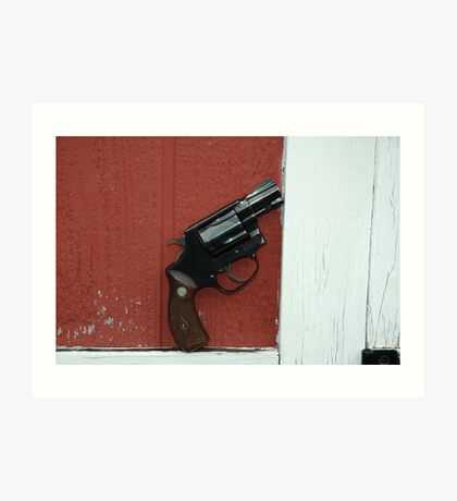 smith and wesson Art Print