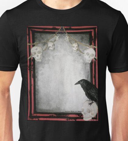 Raven with Skulls Unisex T-Shirt