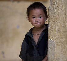 Shy - Sapa Vietnam by Anne Young