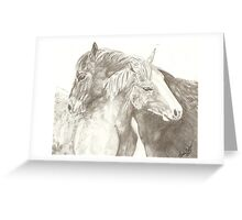 Friends- Kydd and Tuesday Greeting Card