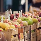Apples at the Market by Wendy Ramos