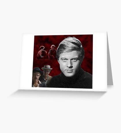 Robert Redford Greeting Card