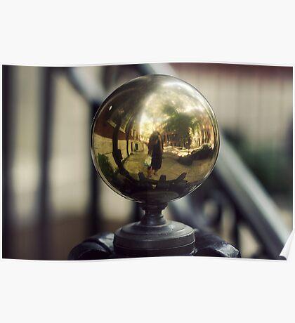 Vintage Brass Knob Poster
