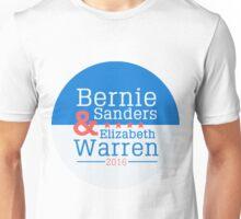 Bernie Sanders & Elizabeth Warren, Dream Team for 2016 Unisex T-Shirt