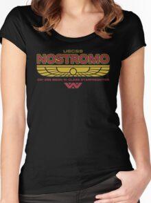 USCSS Nostromo Starfreighter Women's Fitted Scoop T-Shirt