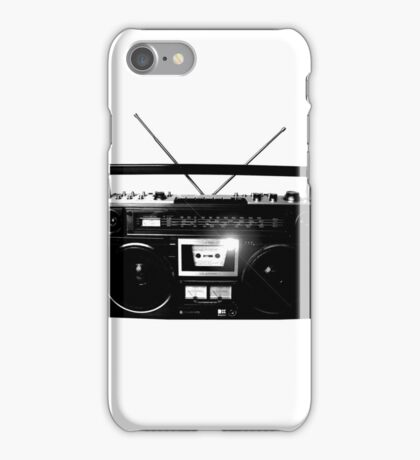 Ghetto Blaster Vintage iPhone Case/Skin