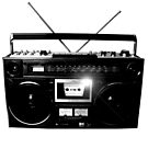 Ghetto Blaster Vintage by dadawan