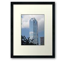 Downtown Dallas Skyscraper Framed Print