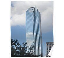 Downtown Dallas Skyscraper Poster