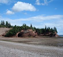Caves at St. Martins, New Brunswick by Stephen Stephen
