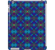 Unique Original Teal, Blue Abstract iPad Case/Skin