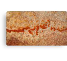 Written in Stone Canvas Print