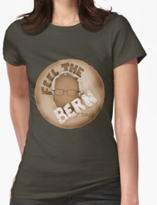 Environmentalists Feel The Bern Womens Fitted T-Shirt