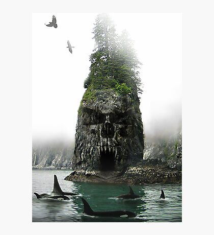 Skull Rock Photographic Print