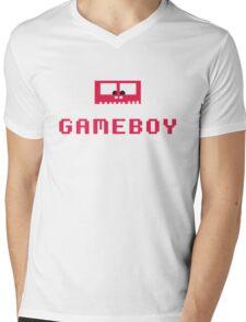 Gameboy Monster Mens V-Neck T-Shirt