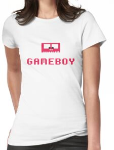 Gameboy Monster Womens Fitted T-Shirt