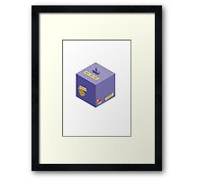 A Step in the East/West Direction Framed Print