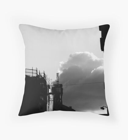 Rue Gassendi  - Paris 14ème - Throw Pillow