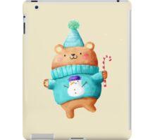 Cute Christmas Teddy Bear iPad Case/Skin