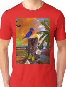 Birds at the Beach Unisex T-Shirt