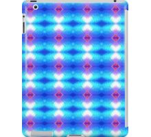 Turquoise and Pink Neon Abstract iPad Case/Skin