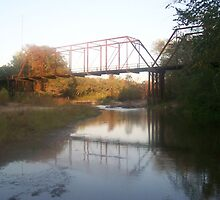Iron Bridge over McCall Creek - Lucien, MS by Dan McKenzie