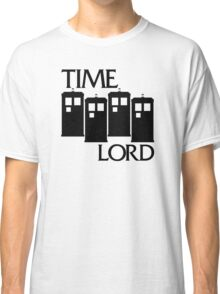 Damaged Doctor - Time Lord Classic T-Shirt