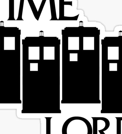 Damaged Doctor - Time Lord Sticker