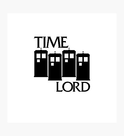 Damaged Doctor - Time Lord Photographic Print
