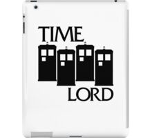 Damaged Doctor - Time Lord iPad Case/Skin