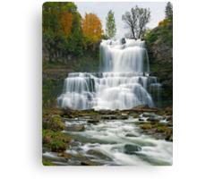 High Flow in Autumn - Chittenango Falls Canvas Print