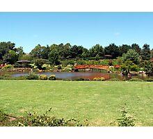 Japanese gardens Toowoomba  Queensland. Aust. Photographic Print
