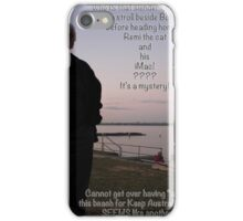 WHO is!!!! that mysterious stranger by the bay?  iPhone Case/Skin