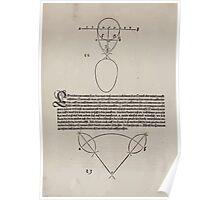 Measurement With Compass Line Leveling Albrecht Dürer or Durer 1525 0026 Varied Curves Poster