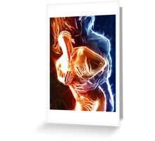 Our Fire is Burning Greeting Card