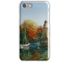 Lake Constance, Germany watercolor iPhone Case/Skin