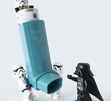 Even dark lords of the Sith can have asthma by Tom Milton