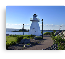 Port Medway Lighthouse Canvas Print