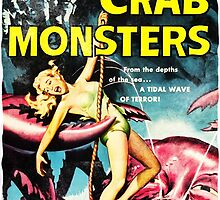 Attack of the Crab Monsters! Vintage  by Vintage Designs