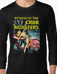 Attack of the Crab Monsters! Vintage  Long Sleeve T-Shirt