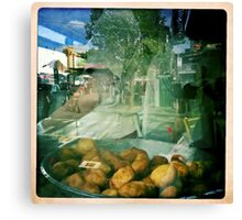 QVM = Donuts Canvas Print