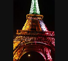 Parisian Mosaic - Piece 21 - The Eiffel Tower Night Light Unisex T-Shirt