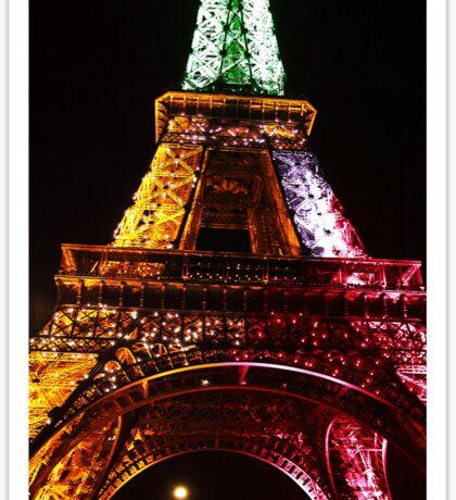 Parisian Mosaic - Piece 21 - The Eiffel Tower Night Light Sticker