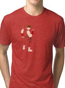 Ryu V 1.2- Street Fighter - Minimalist Tri-blend T-Shirt