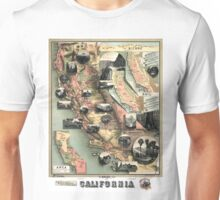 California - United States - 1888 Unisex T-Shirt