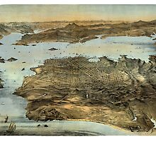 San Francisco - California - United States - 1868 by paulrommer