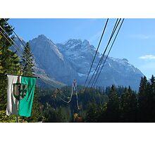 Zugspitze cable-car, Garmisch-Partenkirchen, Bavaria Photographic Print