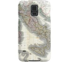 Italy map by John Cary - 1799 Samsung Galaxy Case/Skin