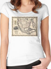 United States in 1849 Women's Fitted Scoop T-Shirt
